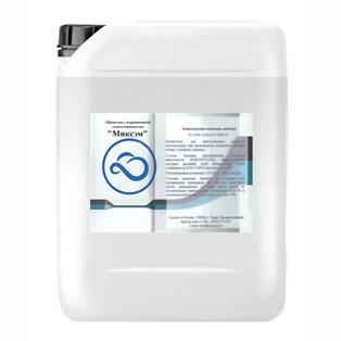 Нейтральное моющее средство (для обработки рук). Действующие вещества: спирт изопропиловый и четвертичные аммониевые соли.